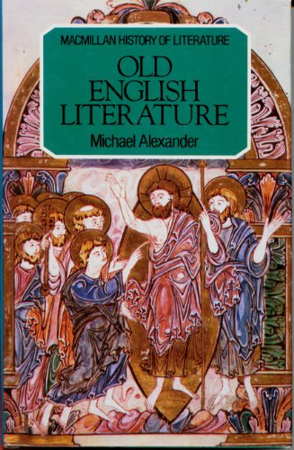 9780333269039: Old English Literature (The history of literature)
