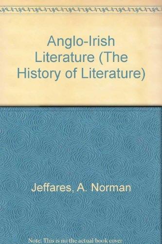 9780333269152: Anglo-Irish Literature (Macmillan history of literature)