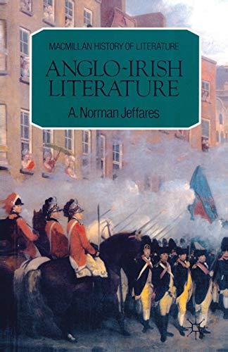 9780333269169: Anglo-Irish Literature (Macmillan History of Literature)