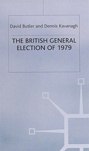 9780333269343: The British General Election of 1979