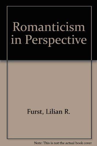 9780333269503: Romanticism in Perspective