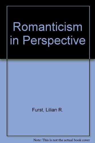 9780333269510: Romanticism in Perspective
