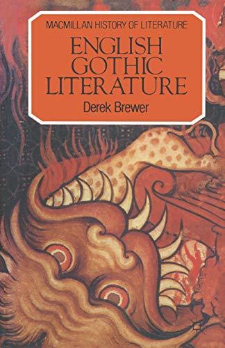 9780333271391: English Gothic Literature
