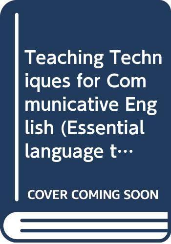 9780333271773: Teaching Techniques For Communicative English