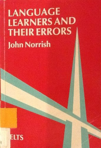 9780333271803: Language Learners and Their Errors (Essential Language Teaching)