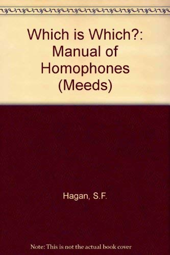 9780333272350: Which is Which?: Manual of Homophones (Meeds)