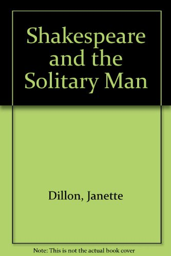 9780333274682: Shakespeare and the Solitary Man