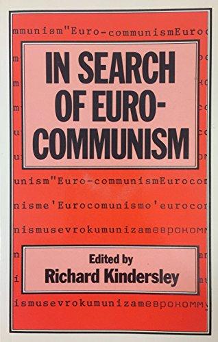 9780333275948: In Search of Eurocommunism (St Antony's Series)