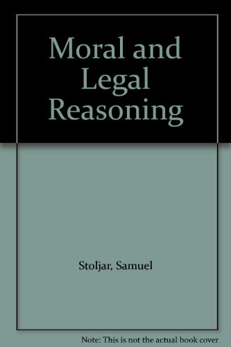 9780333277713: Moral and Legal Reasoning