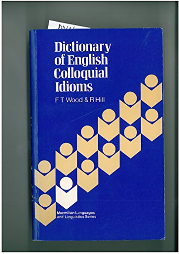 9780333278390: Dictionary of English Colloquial Idioms (Papermac)