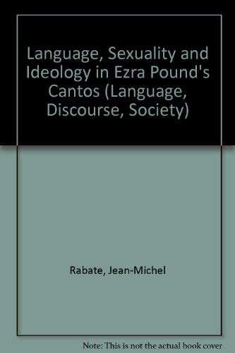 9780333281147: Language, Sexuality and Ideology in Ezra Pound's