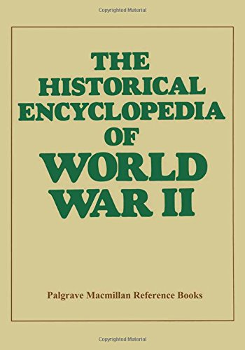 9780333282113: The Historical Encyclopaedia of World War II (Macmillan Reference Books)
