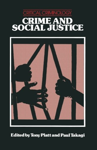9780333282618: Crime and Social Justice (Critical Criminology)
