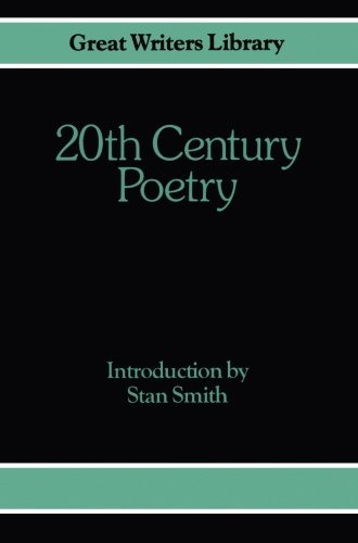 9780333283301: 20th-Century Poetry (Great Writers Library)
