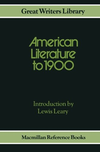 American Literature to 1900: Leary Lewis Intro