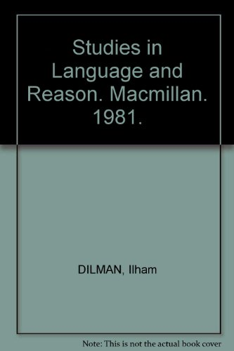 9780333284452: Studies in Language and Reason. Macmillan. 1981.