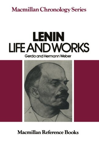 9780333284681: Lenin: Life and Works