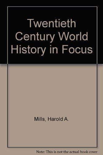 9780333286623: Twentieth Century World History in Focus