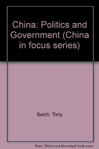 9780333287422: China: Politics and Government