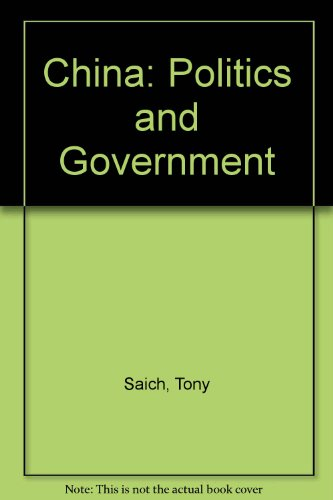 9780333287439: China: Politics and Government