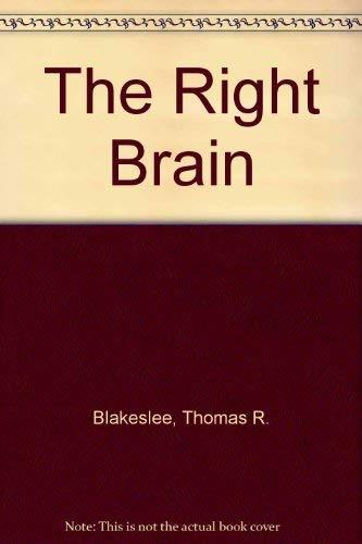 9780333290897: The Right Brain