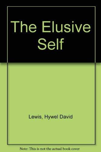 9780333291061: The Elusive Self