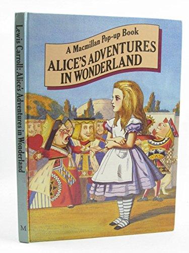 9780333293522: Alice in Wonderland: Pop-up Bk