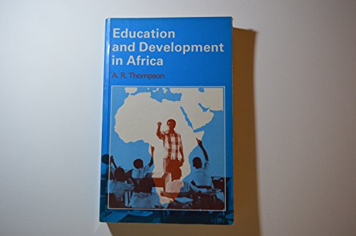 9780333300206: Education and Development in Africa