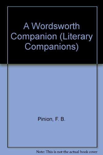 9780333300954: A Wordsworth Companion (Literary Companions)