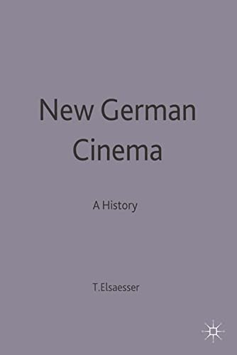 9780333301135: New German Cinema: A History (BFI Cinema)