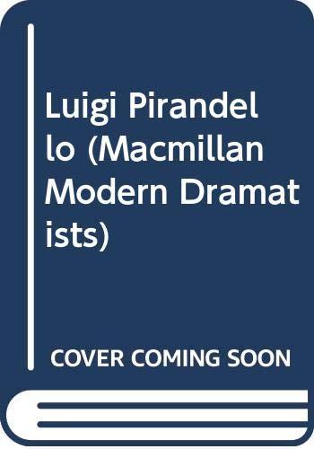 9780333305188: Luigi Pirandello