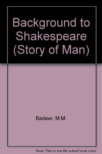 9780333305348: Background to Shakespeare