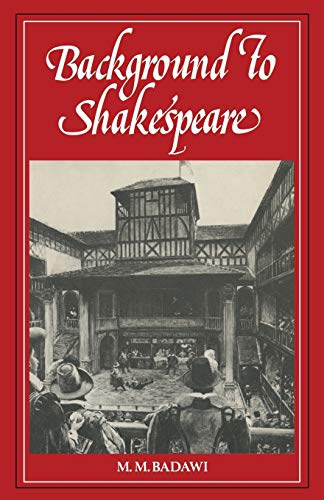 9780333305355: Background to Shakespeare