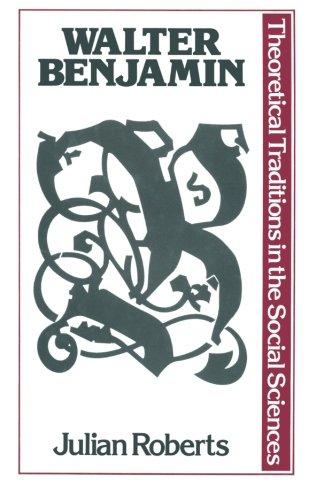 9780333306192: Walter Benjamin (Traditions in Social Theory)