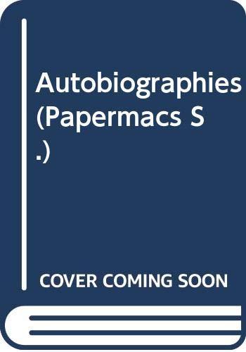 9780333306369: Autobiographies (Papermacs)