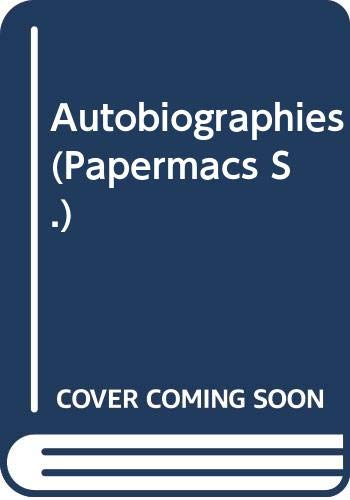9780333306369: Autobiographies