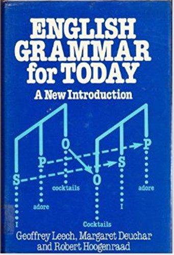 9780333306437: Leech G: English Grammar for Today Hc