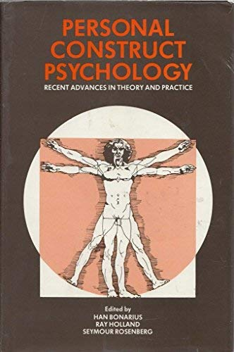 9780333306871: Personal Construct Psychology: Recent Advances in Theory and Practice