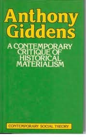 9780333309728: A Contemporary Critique of Historical Materialism: vol 1 Power Property and the state