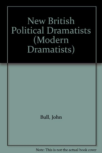 9780333311226: New British Political Dramatists