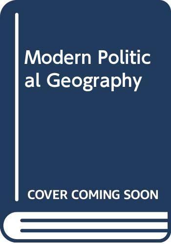 9780333311288: Modern Political Geography