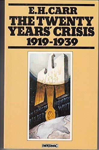 9780333312285: 'THE TWENTY YEARS' CRISIS, 1919-39'