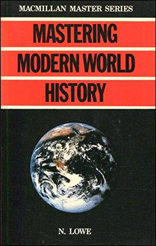 9780333312957: Mastering Modern World History (Macmillan Master Guides)