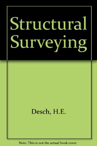 9780333318232: Structural Surveying