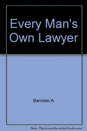 9780333318355: Every Man's Own Lawyer