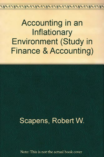 9780333318997: Accounting in an Inflationary Environment (Study in Finance & Accounting)