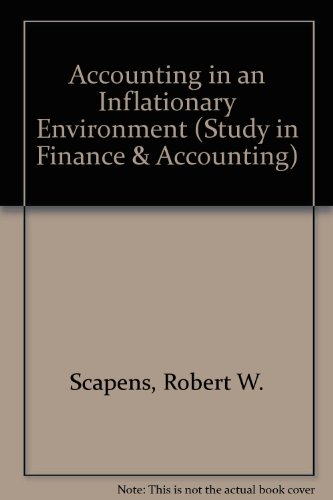 9780333319000: Accounting in an Inflationary Environment - Second Edition