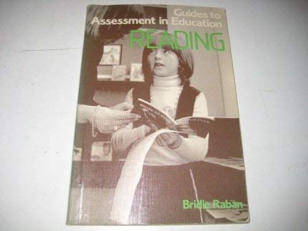 Guides to Assessment in Education.: Raban, Bridie