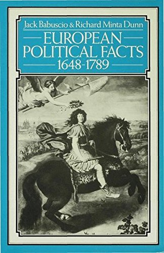 European Political Facts, 1648-1789 (Palgrave Historical and Political Facts)