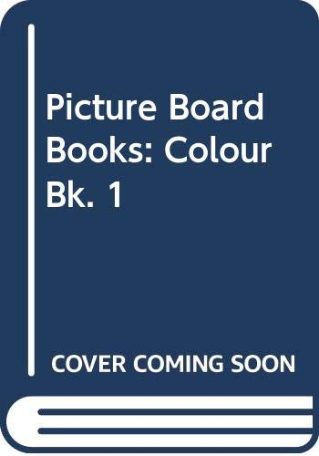9780333323649: Pbb;Colour Book 1: Colour Bk. 1 (Picture board books)